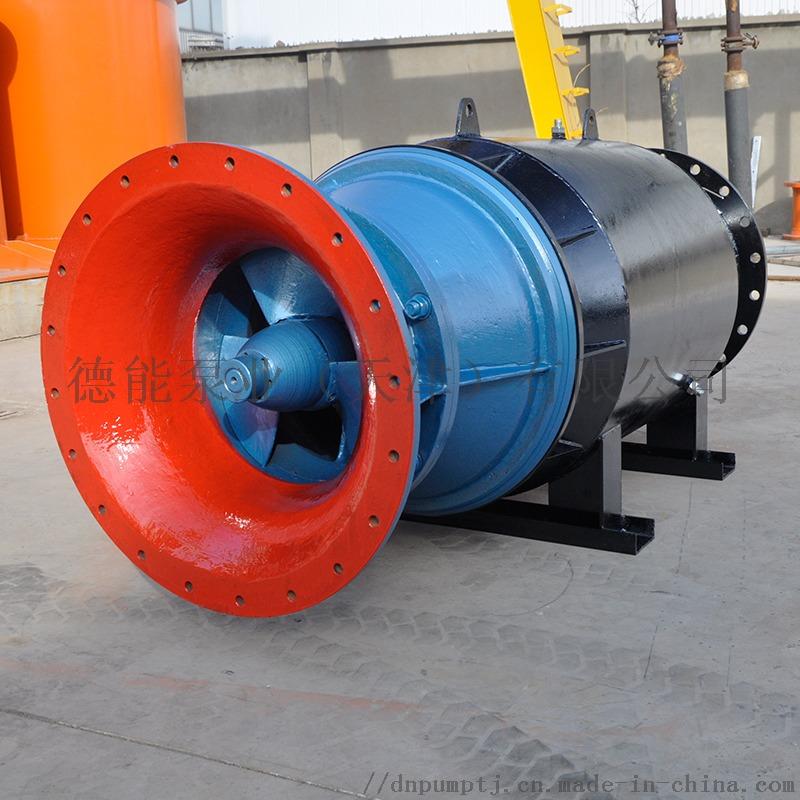 卧式安装轴流泵雪橇桶式安放836282532