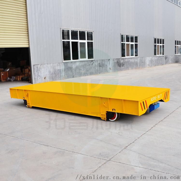 郑州定制电动平板车铸钢轮重型钢材转运车762510582