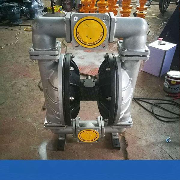 遼寧錦州QBY100口徑隔膜泵 不鏽鋼氣動隔膜泵