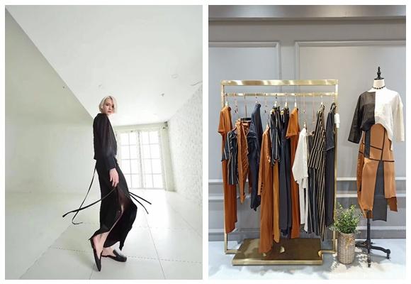 上海设计谷19春夏外贸时尚品牌折扣女装尾货打包走份92789035