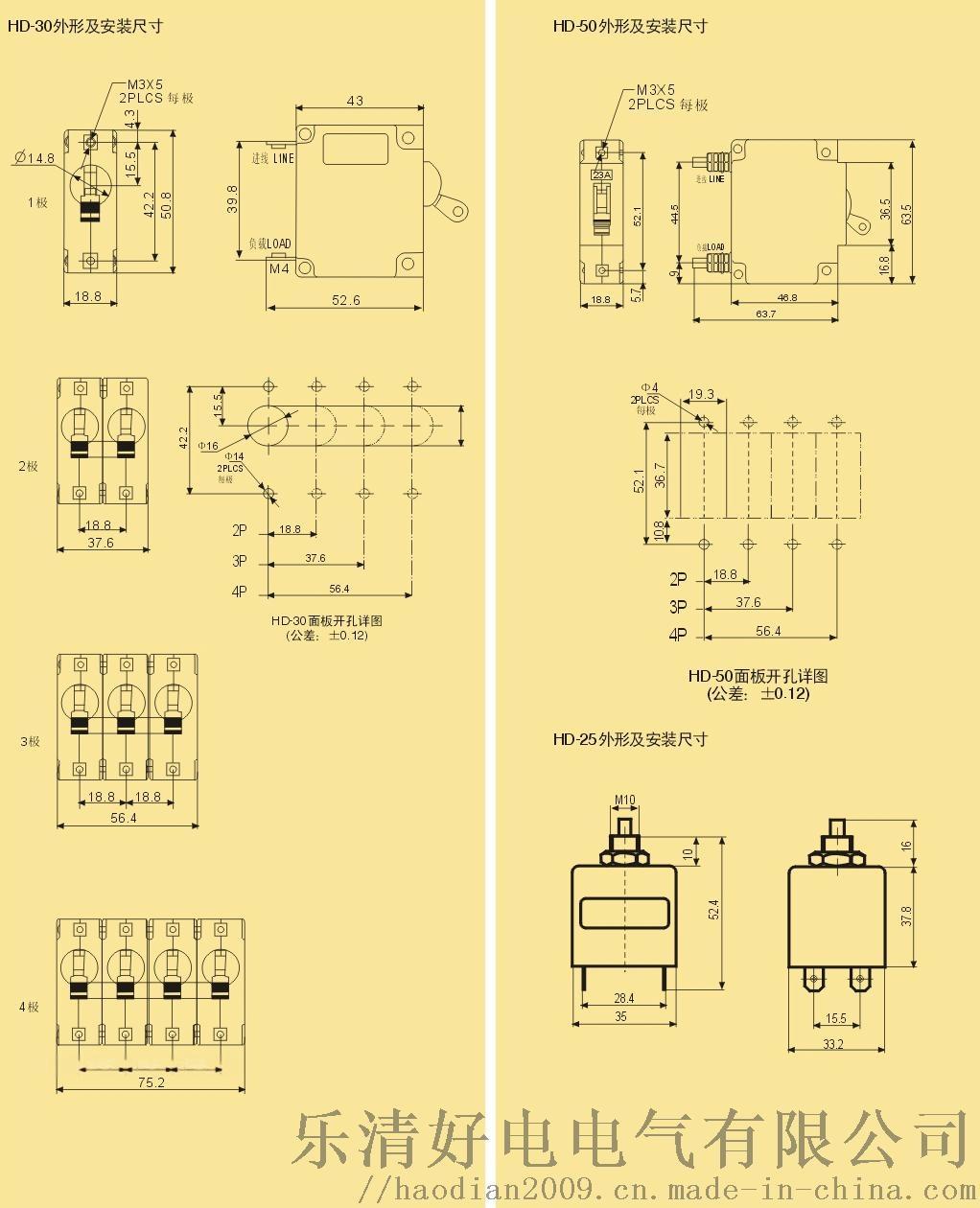 設備保護用液壓式電磁式保險絲(熔斷器)斷路器58978572