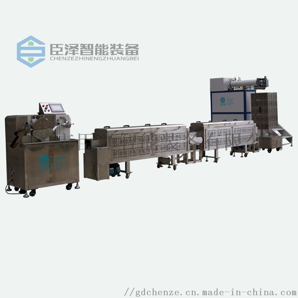 立式单色硅胶挤出生产线