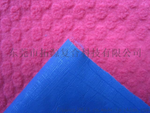 蓝色摇粒绒贴印花布侧面1.jpg