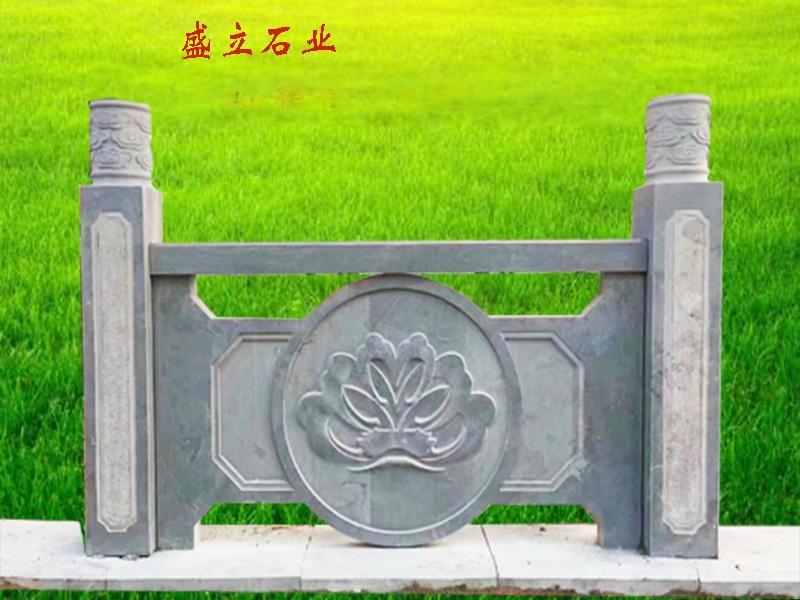 石材栏杆/河道工程石雕护栏/景区池边石雕围栏厂家79580822