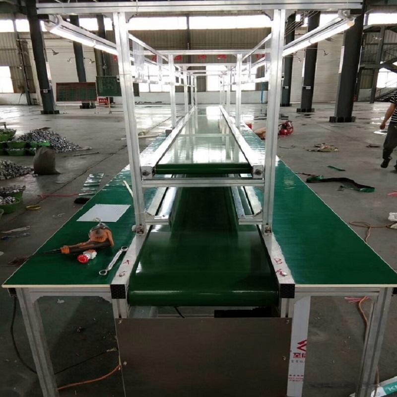電子車間流水線 路由器生產輸送線 電子裝配生產線104241582