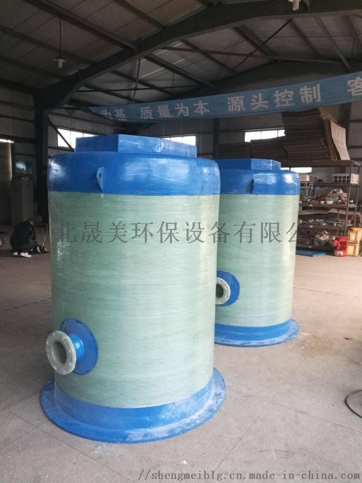 玻璃钢一体化污水泵站 粉碎格栅 污水提升器的规格858609212