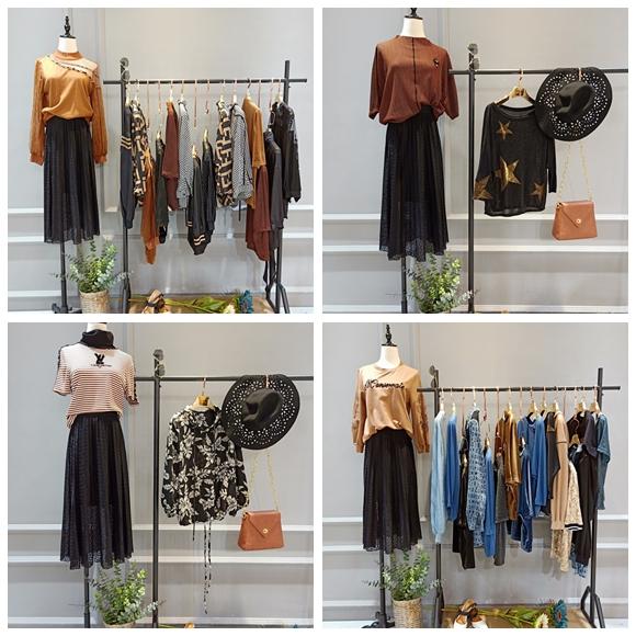 时尚大码女装剪标品牌帕拉娜  折扣店哪来的货源89704985