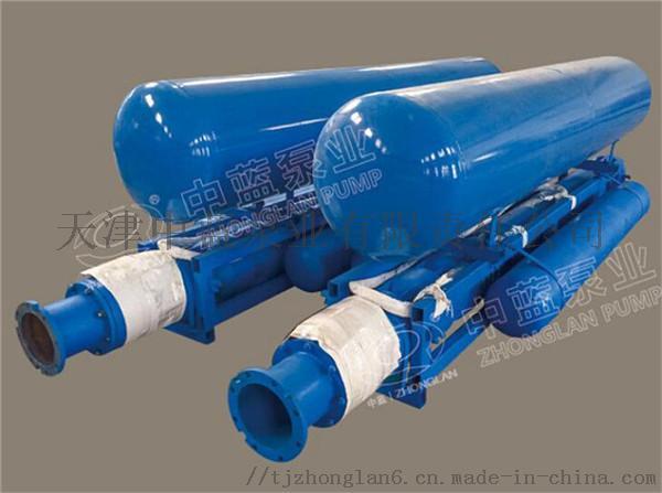 浮筒安装深井泵适用水上作业72433822