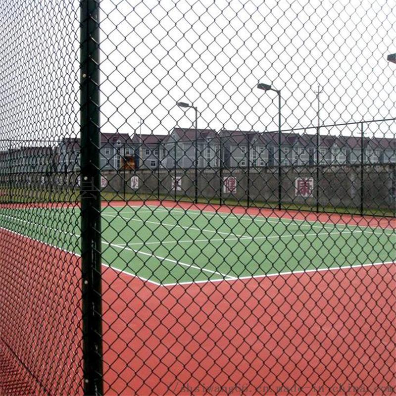 体育运动场防护栏 操场隔离栏 勾花网护栏774124092