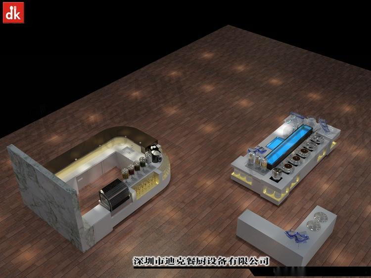 迪克餐廚設計 移動布菲臺專業定製 配套自助餐檯設備92879575