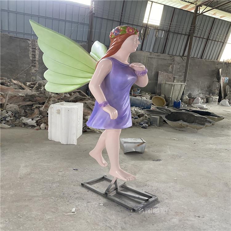 广西玻璃钢天使人物雕塑 **女神雕像935616785