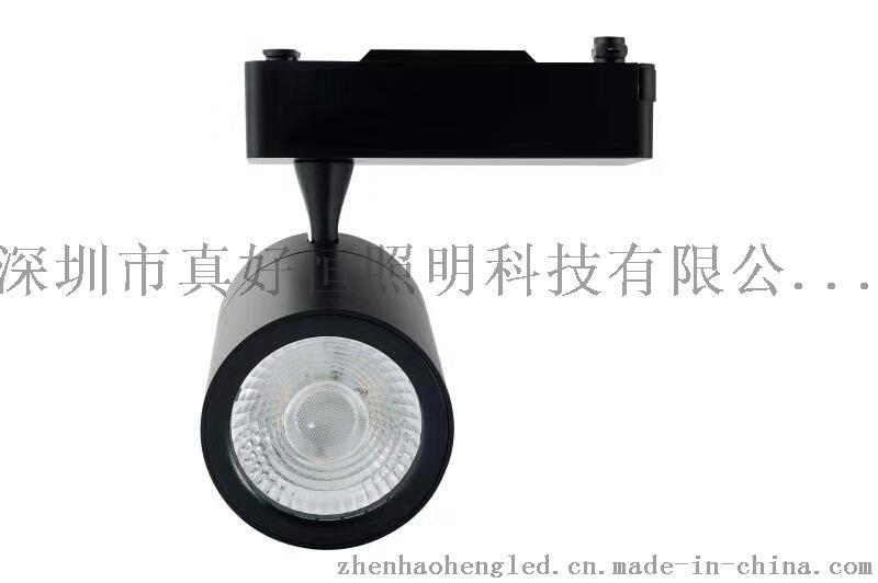 好恆照明專業生產LED軌道燈30W 光效110lm/w 進口晶片 導軌燈 服裝店射燈 展廳射燈 商場 超市專用射燈 廠家直銷759027465