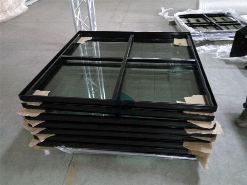 黑色玻璃拼接舞台,升降舞台,拼装舞台,组合型舞台71466222