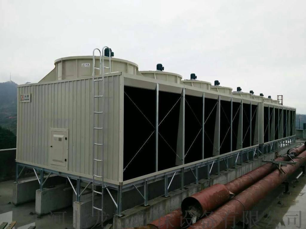 廠家直銷HBLG工業型橫流式冷卻塔 玻璃鋼冷卻塔821219032
