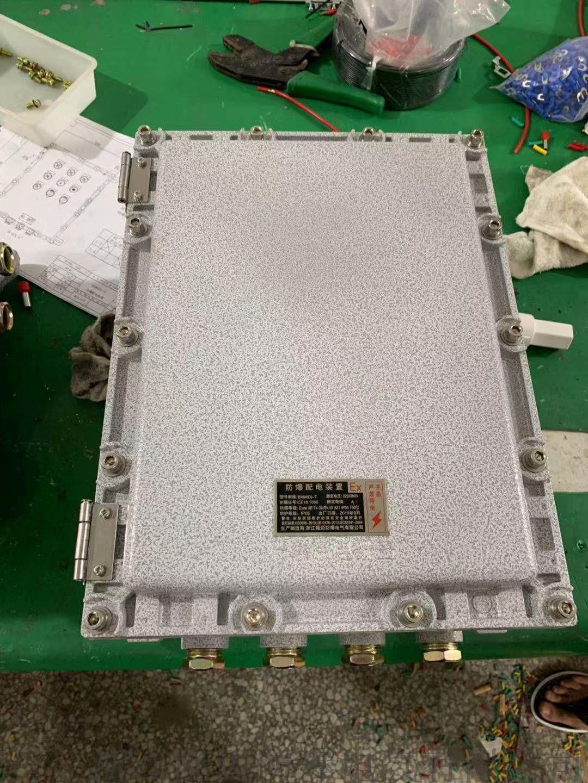 铝合金防爆接线箱ExdⅡBT6-IP65-WF1953037015