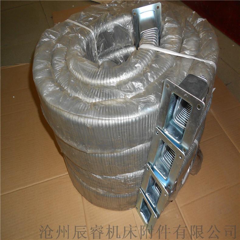 安装方便JR-2型矩形金属软管 嵘实金属软管826217975