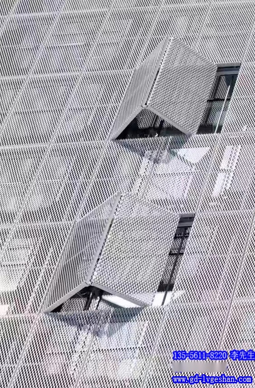 铝板网外墙效果图 铝幕墙冲孔板 幕墙铝铝板厂家