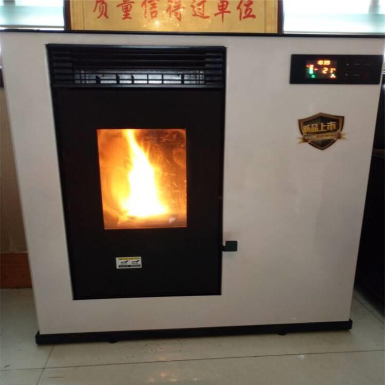 现货生物质颗粒取暖炉 热风采暖炉 家用 商用环保采暖炉厂家825244122