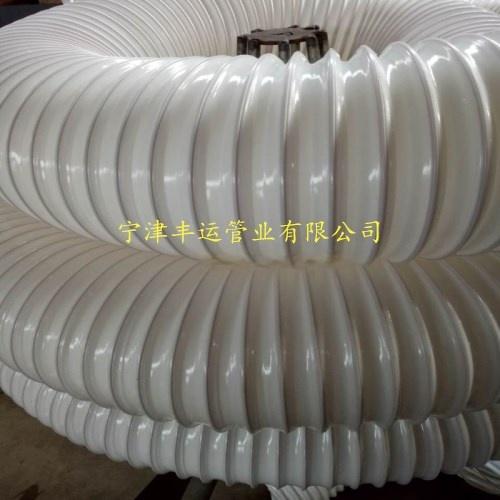 PU黑色鋼絲伸縮管新風系統通風管聚氨酯耐磨風管36248442