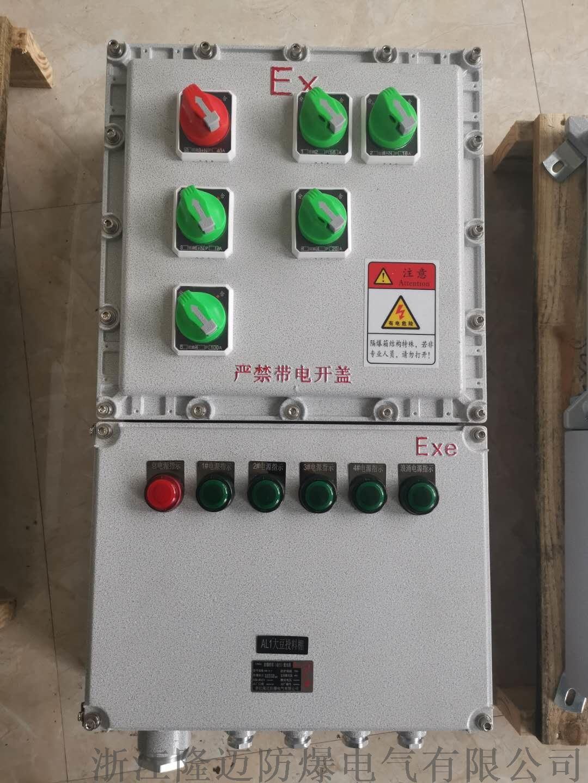 防爆动力配电箱ExdⅡCT4-铝合金(带防雨罩)154110735