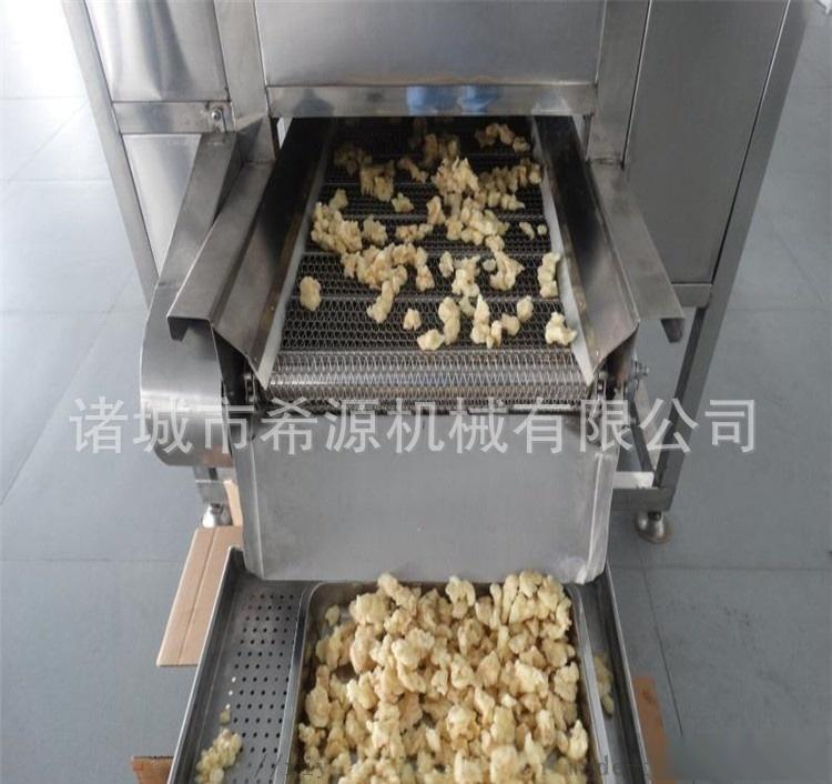 源头厂家定制鸡米花裹粉油炸生产线 节省人工操作111450242