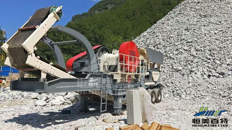 浙江建築垃圾破碎機械 移動式破碎站篩分一體機價格和產量807735542