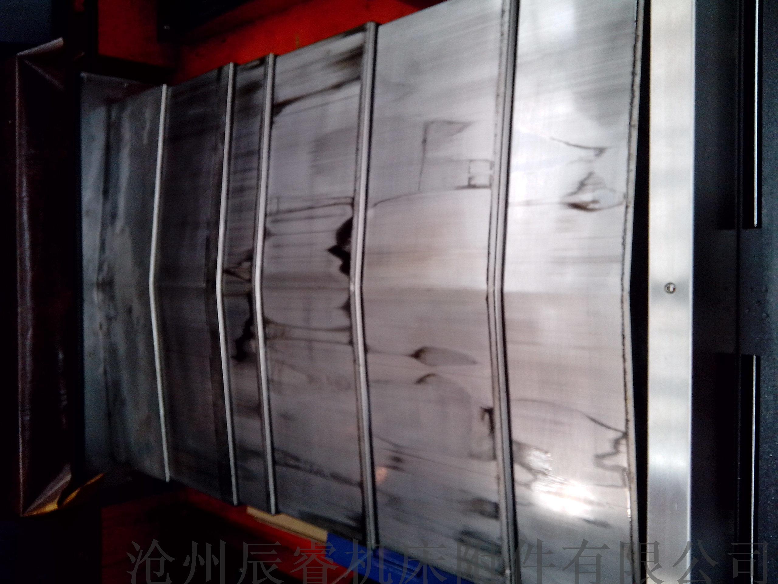 数控机床导轨钢制防护罩 沧州嵘实钢制防护罩827045615