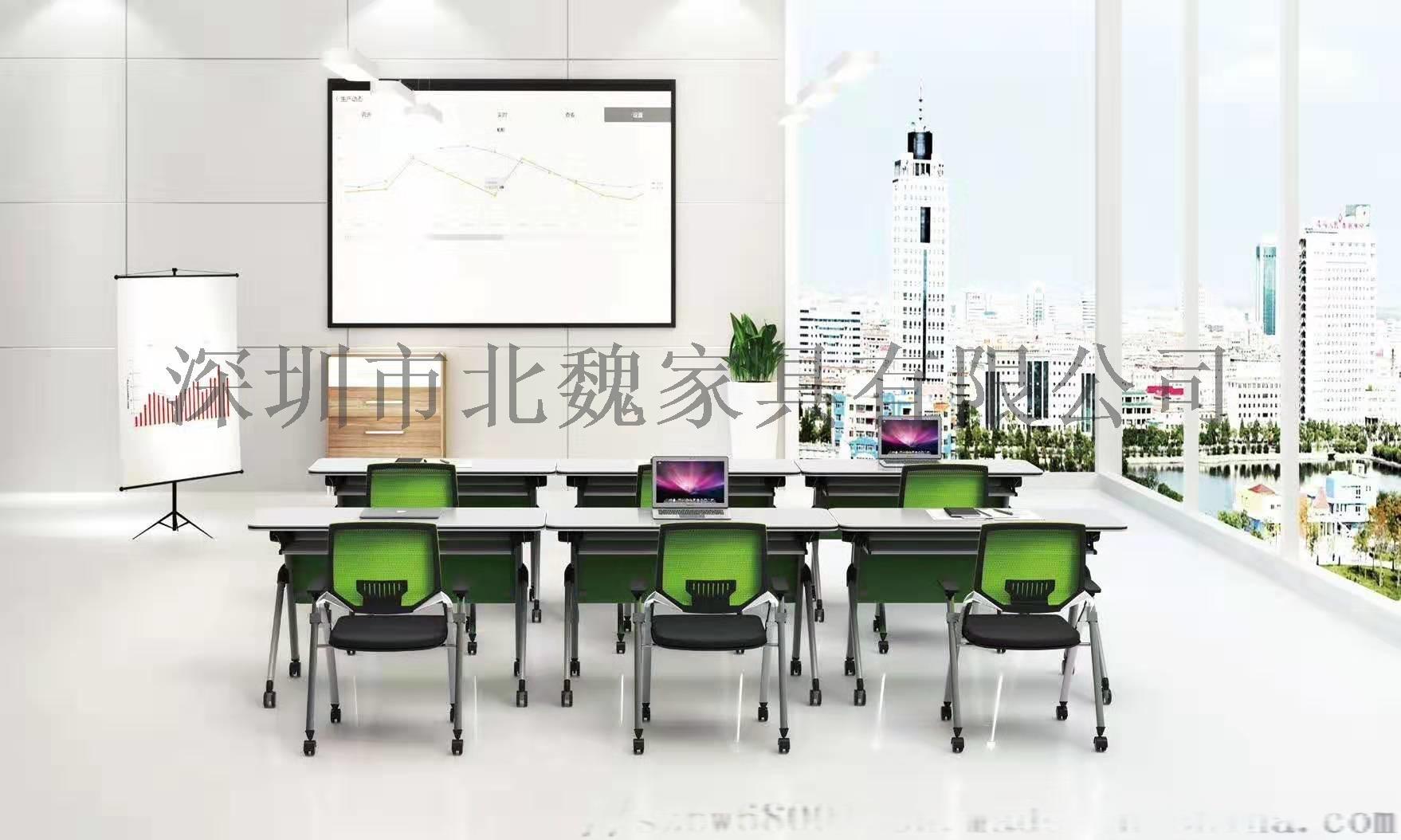 培训班折叠桌椅-员工折叠培训桌椅-可移动培训桌椅123205515