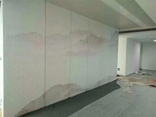 山水画穿孔铝板 艺术冲孔铝单板 室内透光铝单板.jpg
