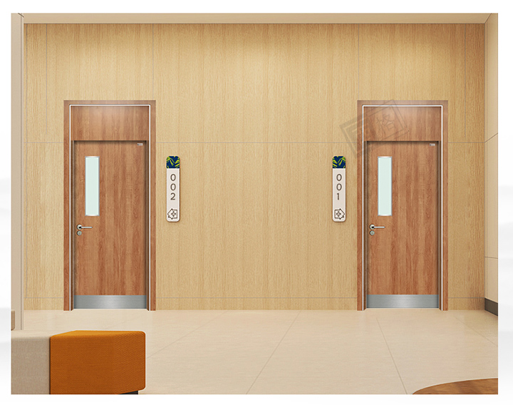 HPL中医院门-单开门(带封板)-红枫木-长方视窗-底部防撞带_05.jpg