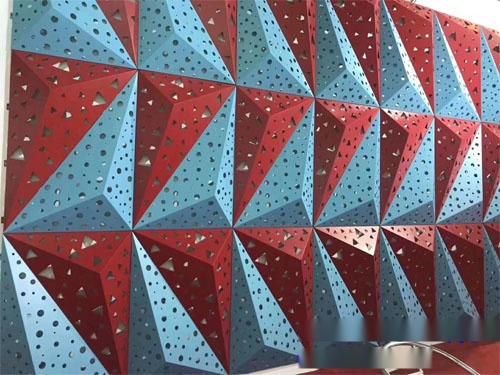 鋁單板造型鏤空 彩色穿孔鋁單板 牆身鋁單板圖片.jpg