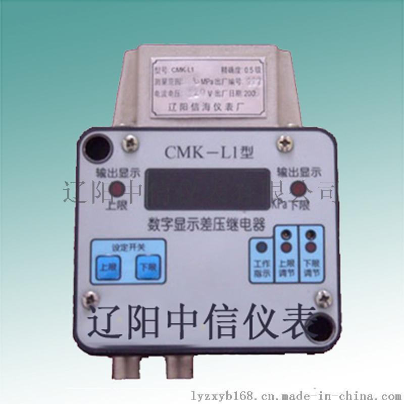 CMK-L1数字显示差压继电器