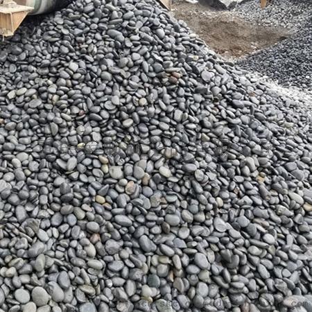 黑色鹅卵石3-5cm
