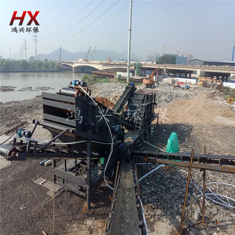 浙江制砂設備 建築垃圾移動破碎站 錘式制砂機84091292