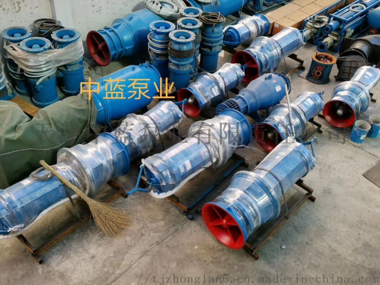 悬吊式安装潜水轴流泵 雪橇式轴流泵厂家812414522