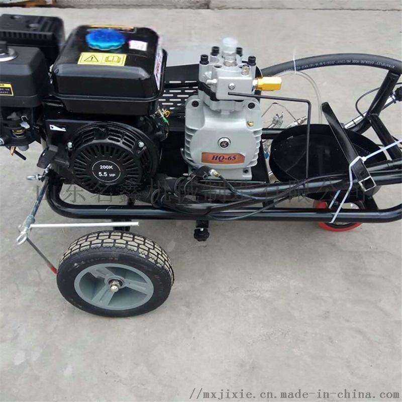 手推热熔划线机 混凝土路面划线机道路不干胶划线机833640942
