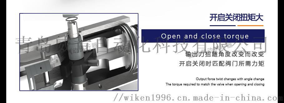 不锈钢气动对夹球阀德国威肯智能型气动球阀厂家定制102347332