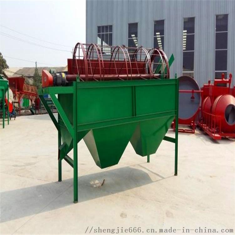 鸡粪牛粪加工有机肥整套生产线设备多少钱产量135888765