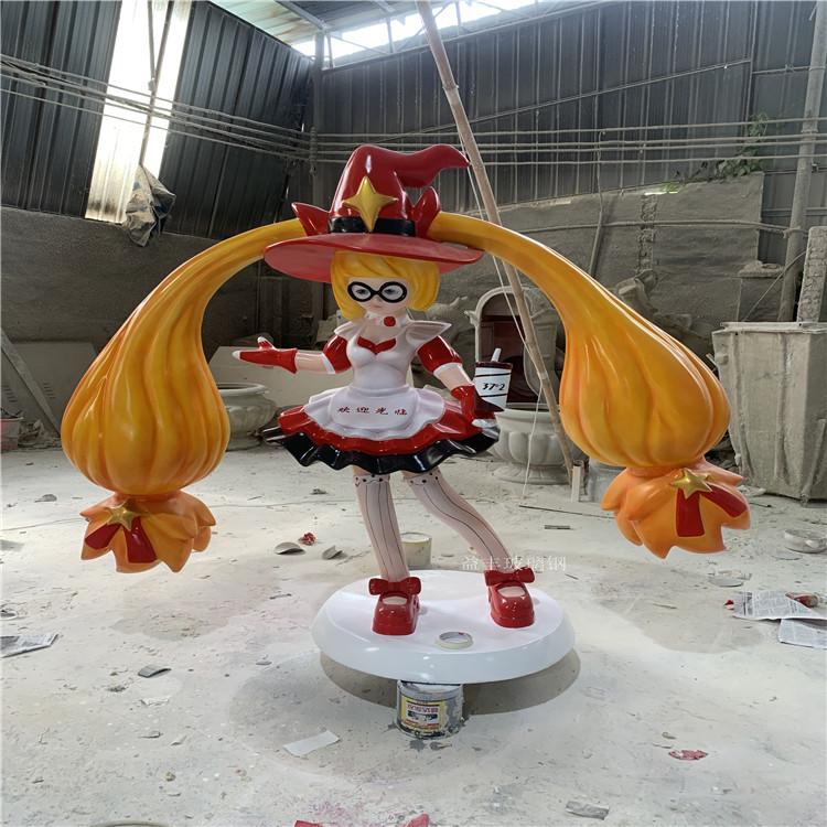 广州商业广场卡通雕塑 玻璃钢公仔卡通雕塑美陈147499545