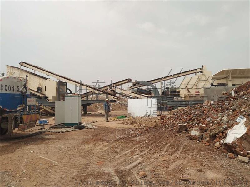 山東大型移動式破碎機廠家 建築垃圾破碎機67994662