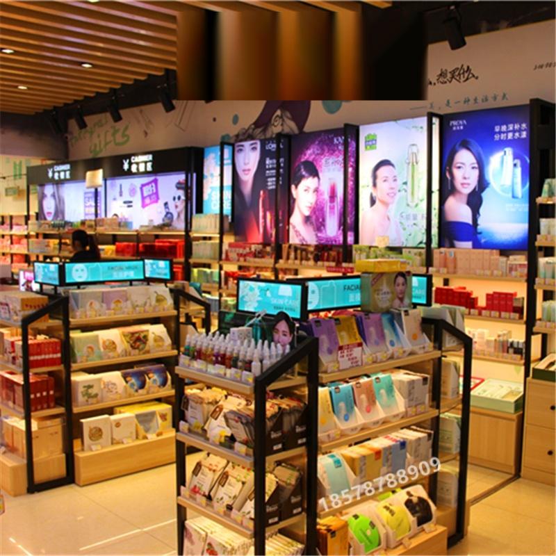廣州化妝品店美容護膚品化妝品展示櫃展櫃櫃檯貨架741231322
