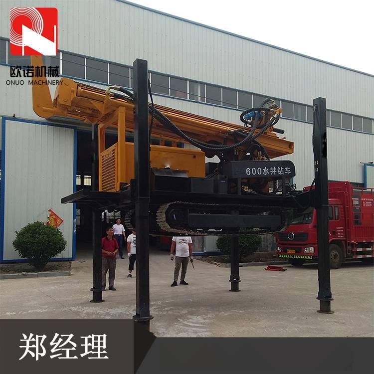 履带式钻井机 全自动深水井钻机 高速液压水井钻机69073292