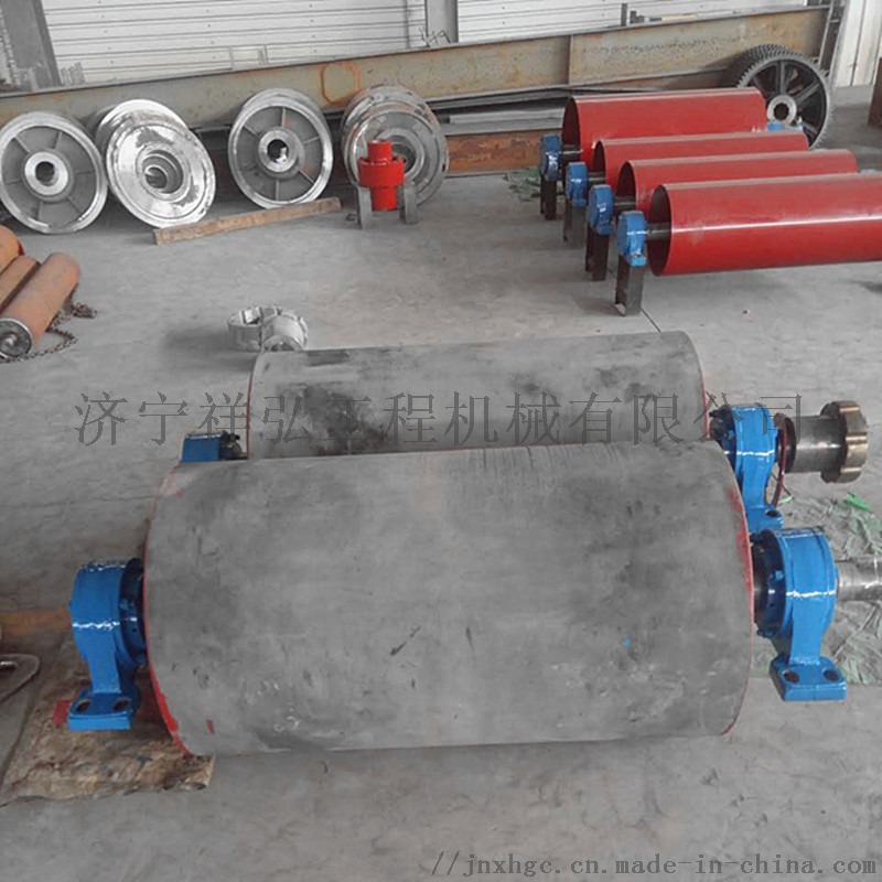 煤矿皮带机专业包胶改向滚筒厂家65550892