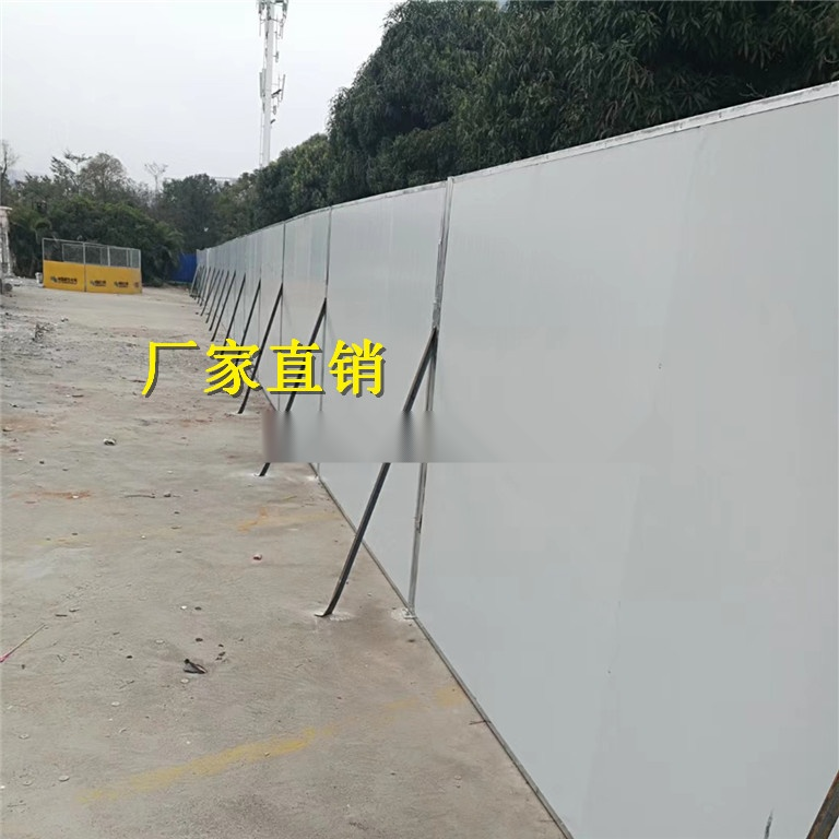 廣西彩鋼施工圍檔丨雙層泡沫夾心彩鋼板66109705