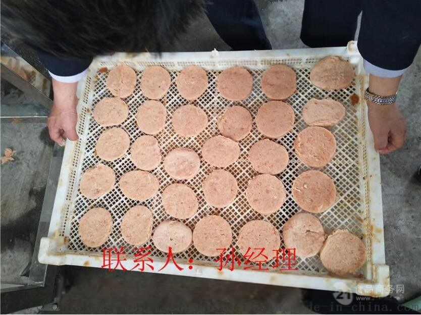 土豆饼成型机 土豆饼上面包糠机 土豆饼油炸机42304712