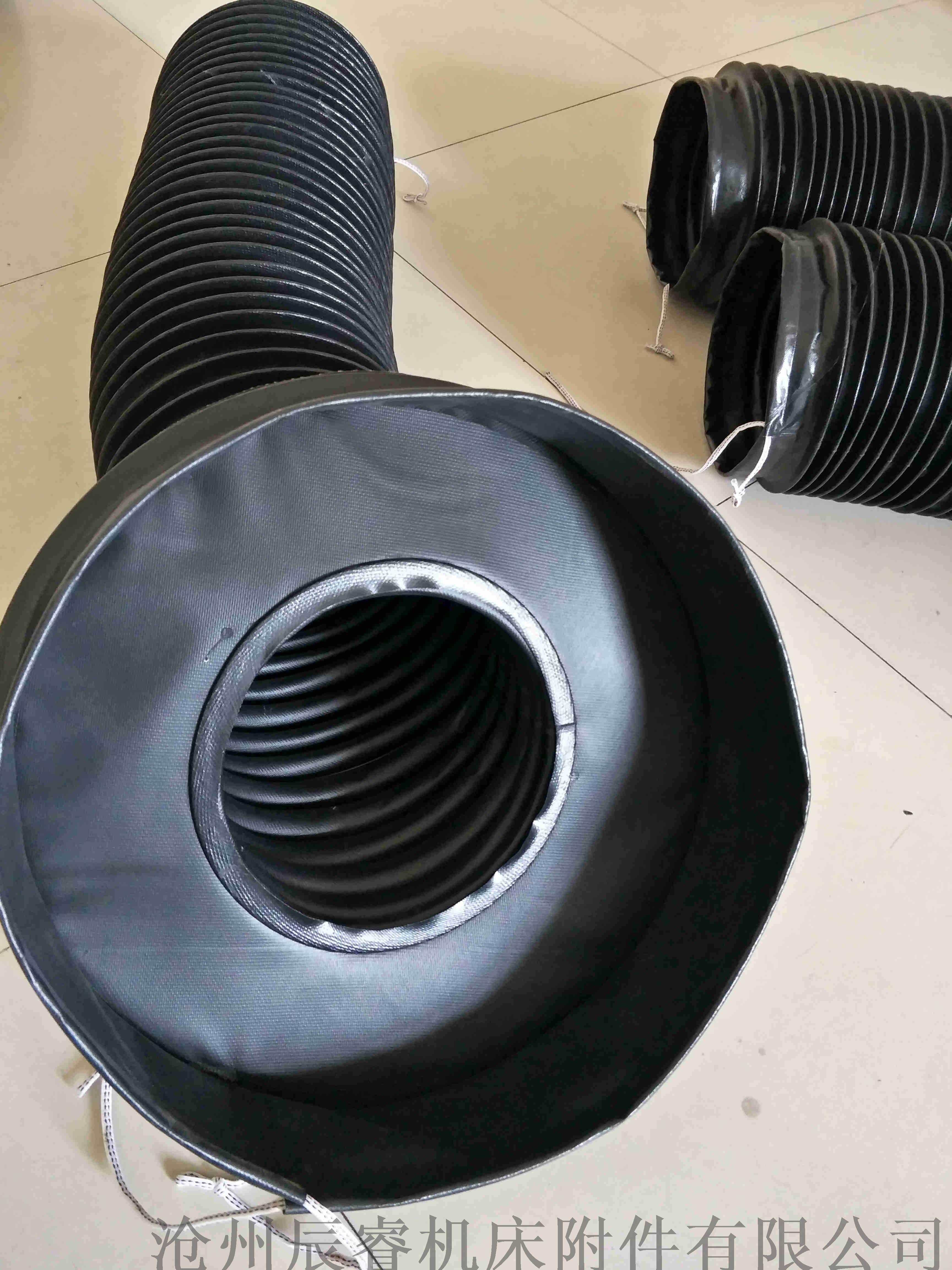 圆筒式油缸防护罩,风琴样式圆筒油缸防护罩840788935