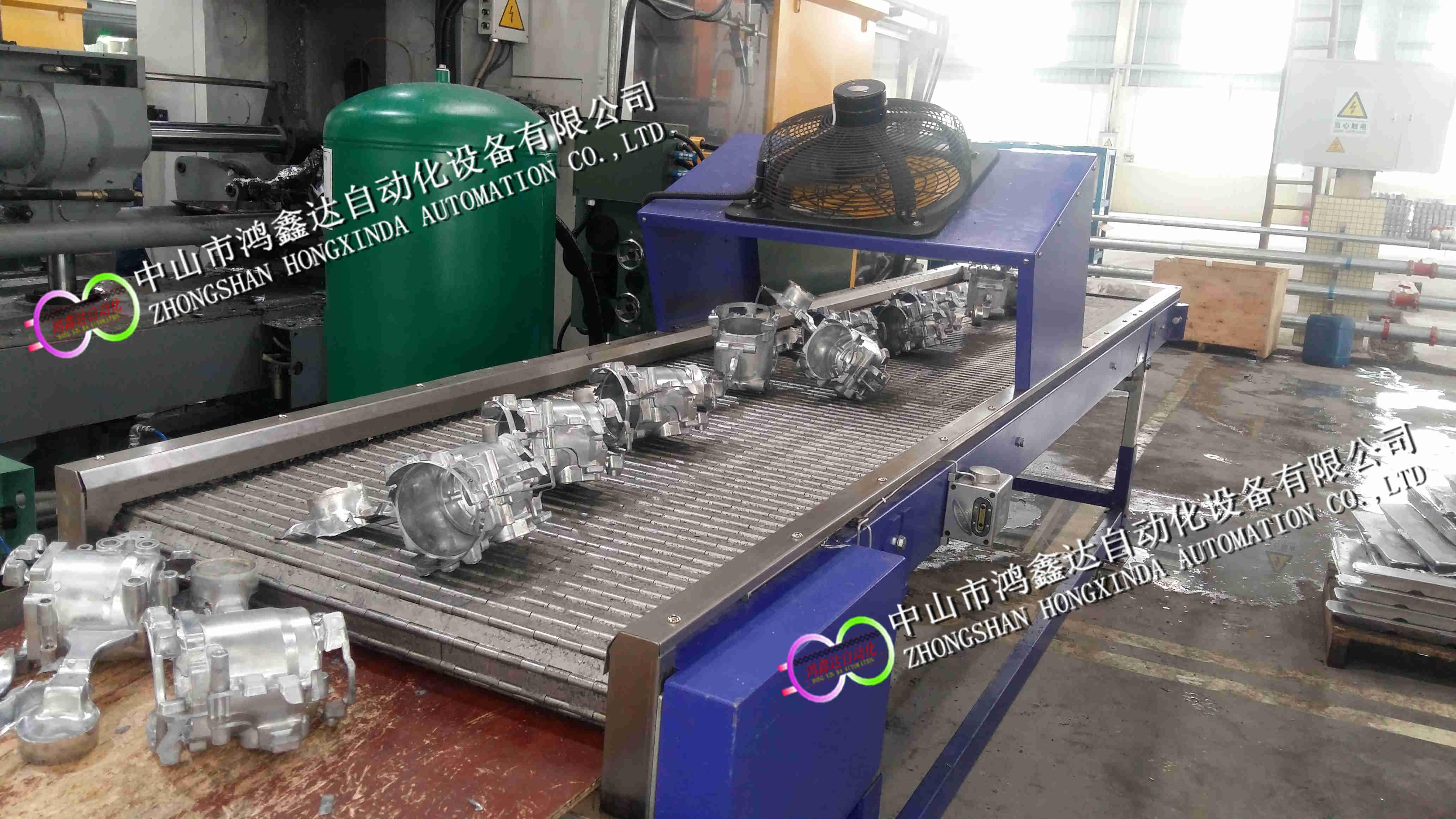 佛山铸铝件冷却链板线,中山铸铁件输送线811672135