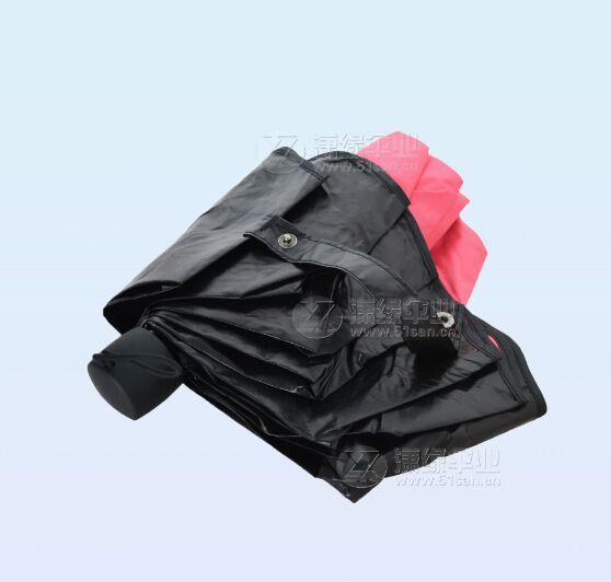 超轻三折遮阳伞、黑胶防紫外线折叠伞、遇水开花太阳伞779995762