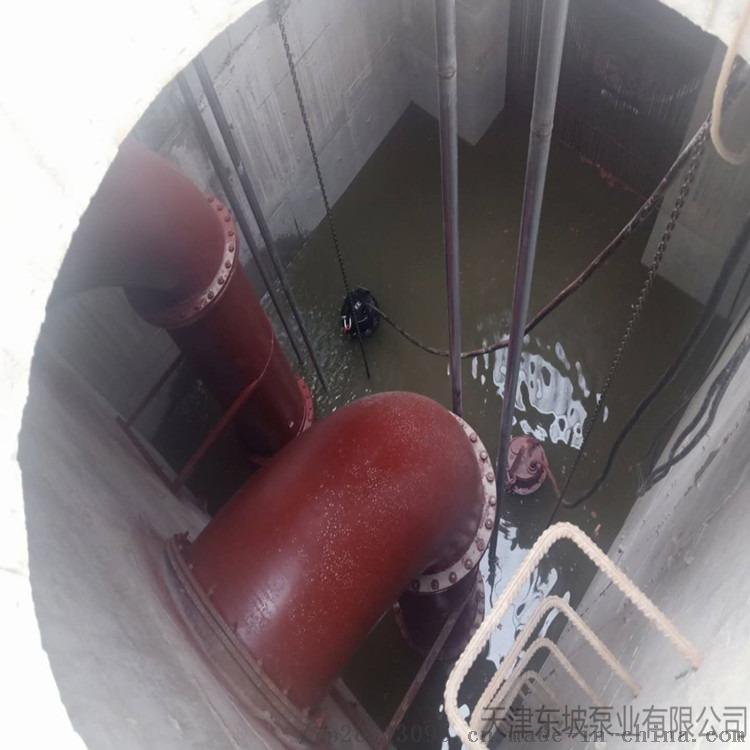 铸铁污水泵 潜污泵型号 无堵塞式污水泵845038012