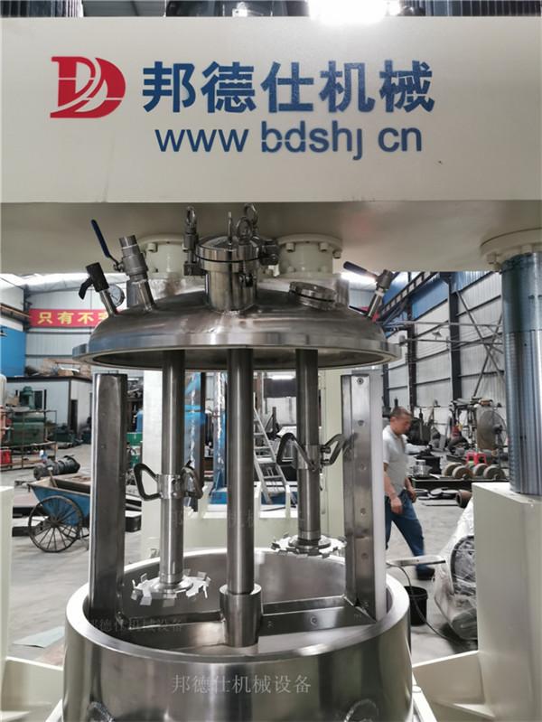 供应宁夏300L强力分散机 中性结构胶生产设备862225075